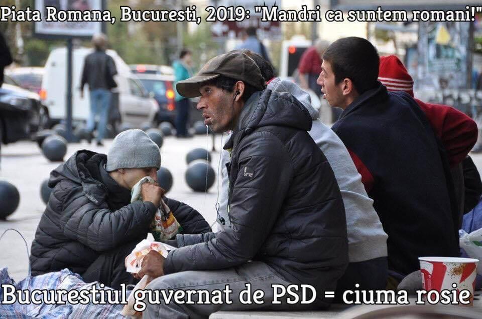 Romania, Bucuresti, Piata Romana, 2019