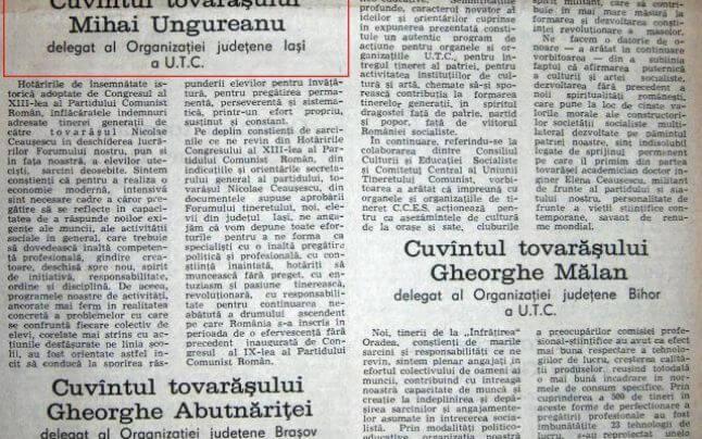 Tovarasul Mihai Razvan Ungureanu