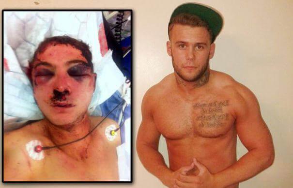 Lee Cekic și victima sa