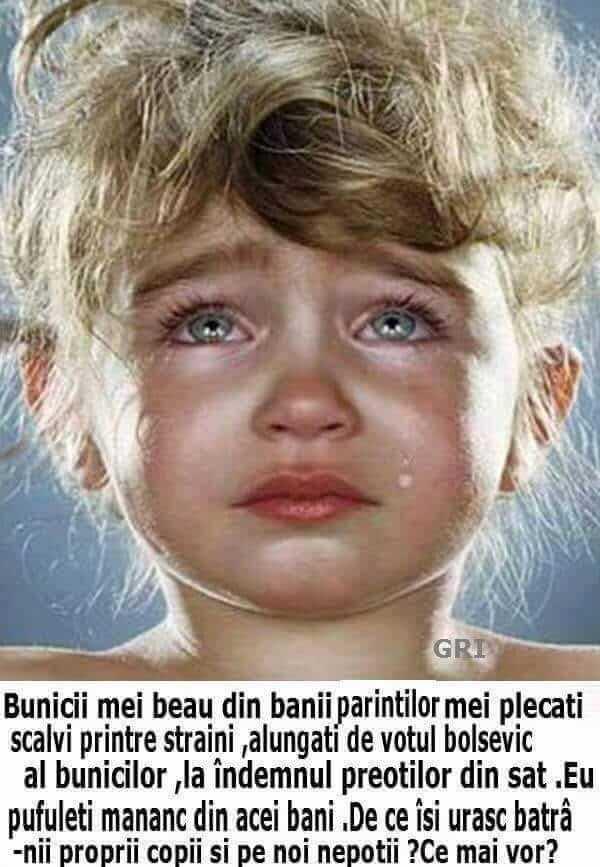 Copil in lacrimi
