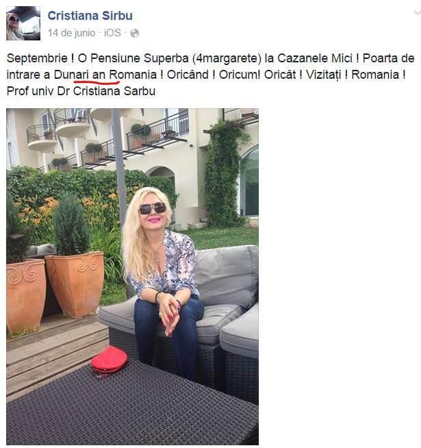 Cristiana Sarbu