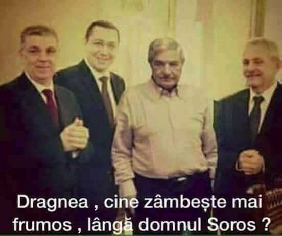 Dragnea, Soros
