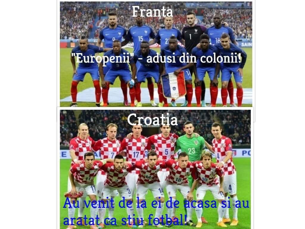 Franta versus Croatia