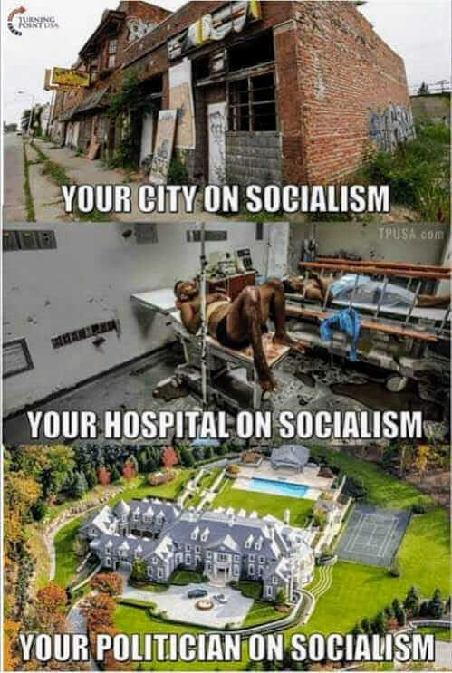 In socialism