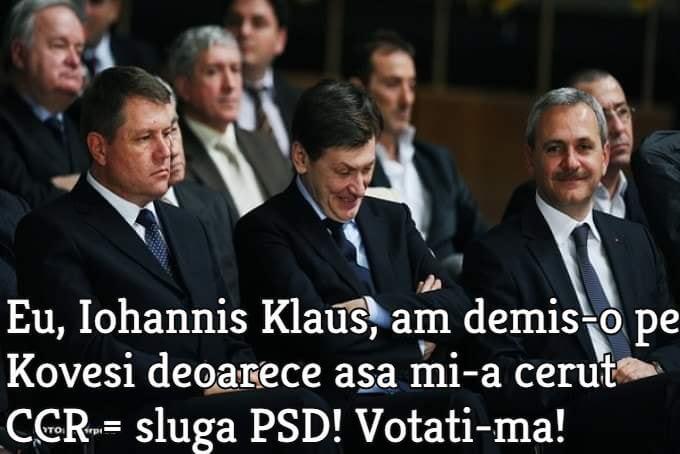 De la stânga: Klaus Iohannis, Crin Antonescu, Liviu Dragnea