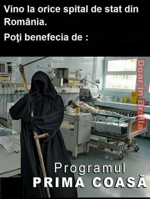 Moartea in spital