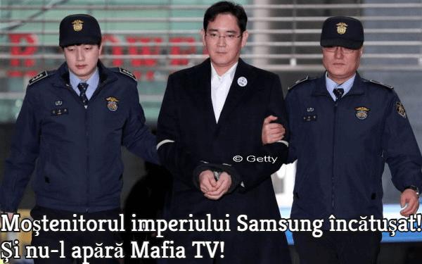 Mostenitorul Samsung incatusat