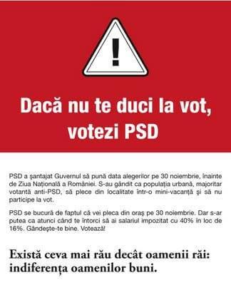 Mergi la vot!