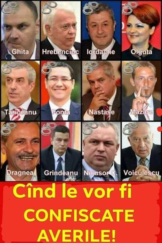 PSD = ciuma rosie = mafia