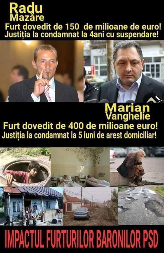 Baroni PSD: Radu Mazare si Marean Vanghelie