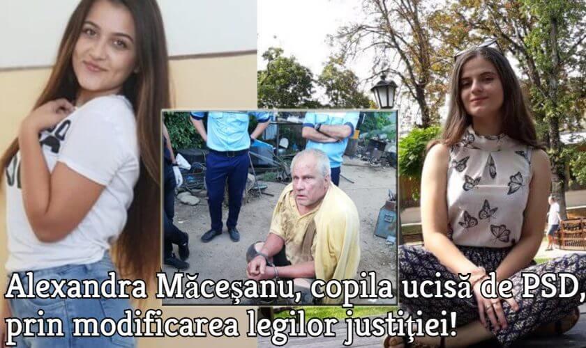 Alexandra Macesanu - ucisa de PSD