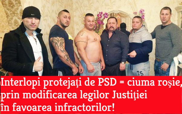 PSD, justitie