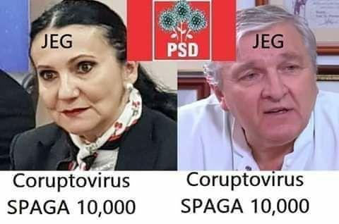 PSD = coruptovirus