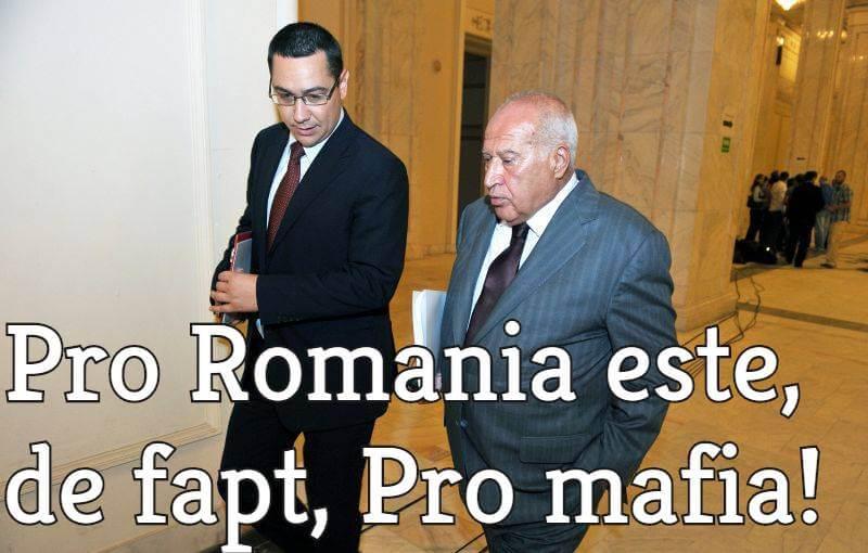Victor Ponta si Dan Voiculescu