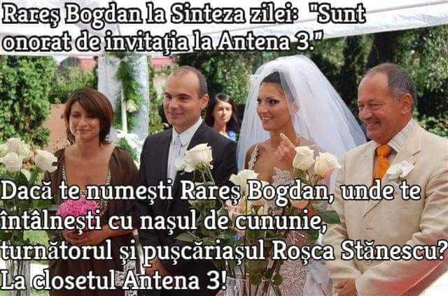 Rares Bogdan, Sorin Rosca Stanescu