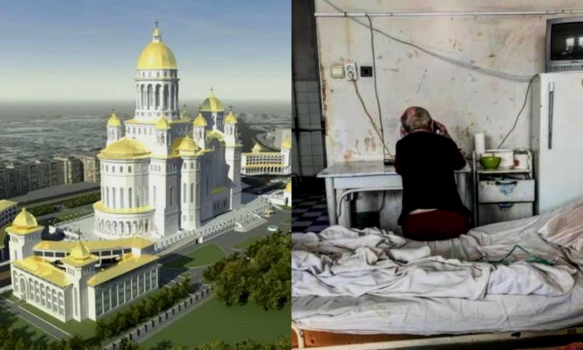 Catedrala versus spital