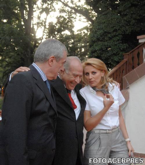Dan Voiculescu si Calin Popescu Tariceanu