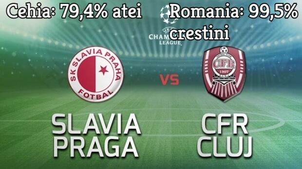 Slavia Praga versus CFR Cluj
