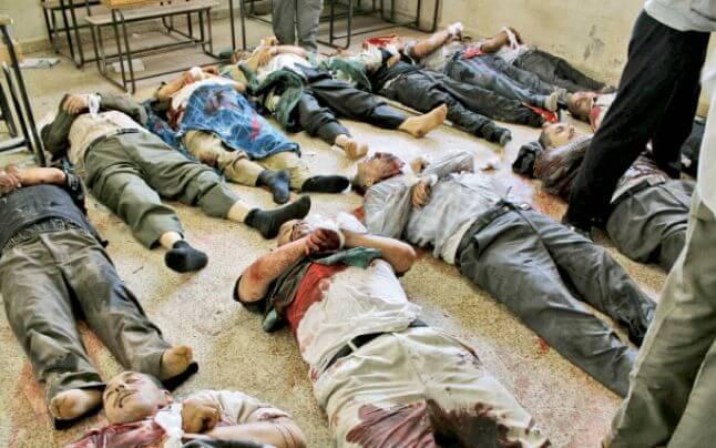 Civili ucisi in Siria
