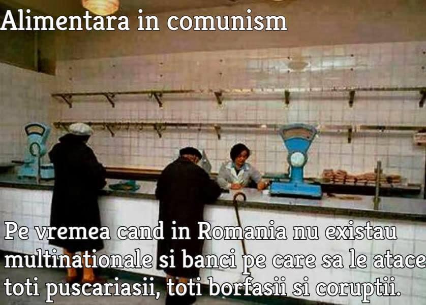 Alimentara in comunism
