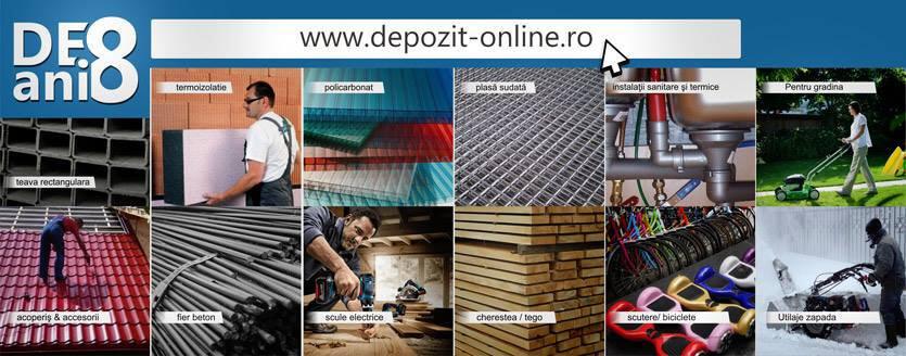 Depozit-online.ro, materiale de constructii la cele mai mici preturi