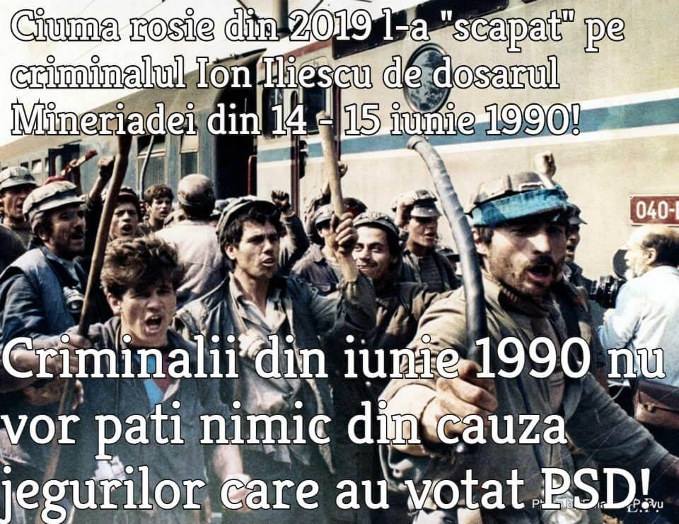 Mineriada, iunie 1990