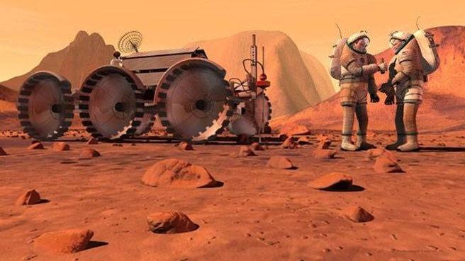 Oameni pe Marte