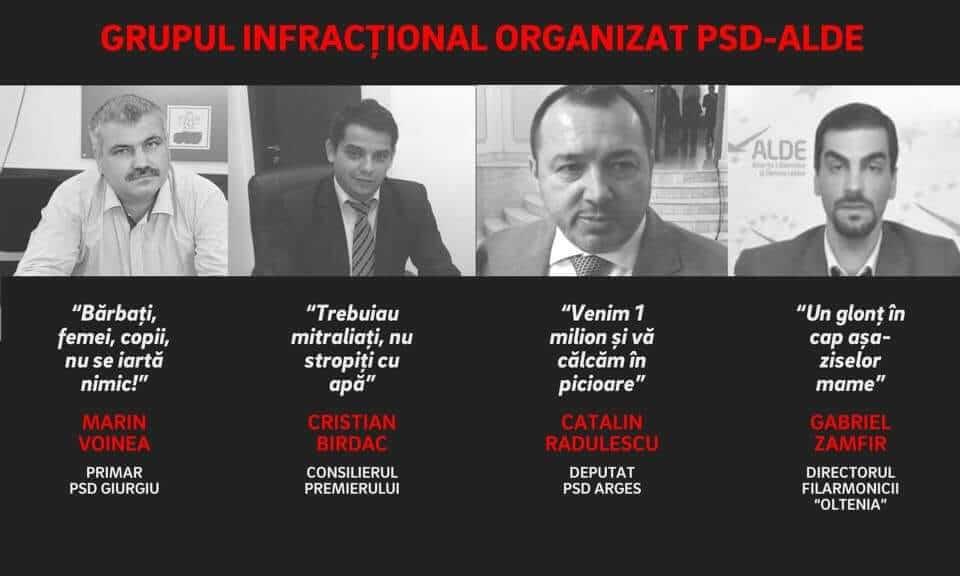 Grupul infractional organizat PSD