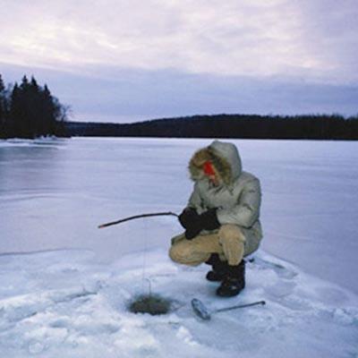 Pescuit iarna