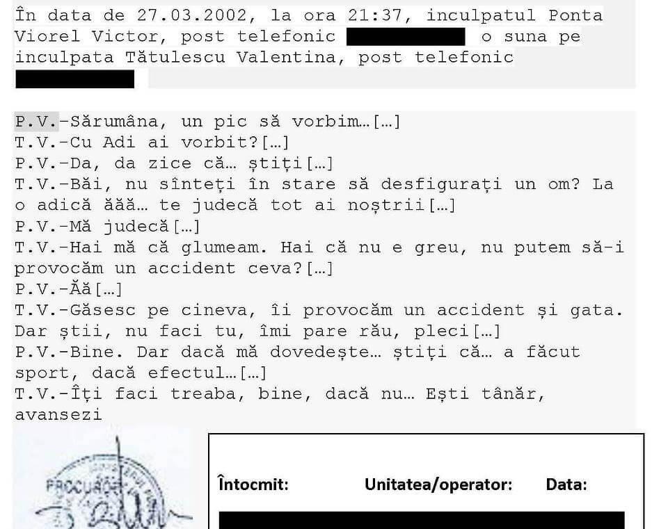 Convorbire Ponta