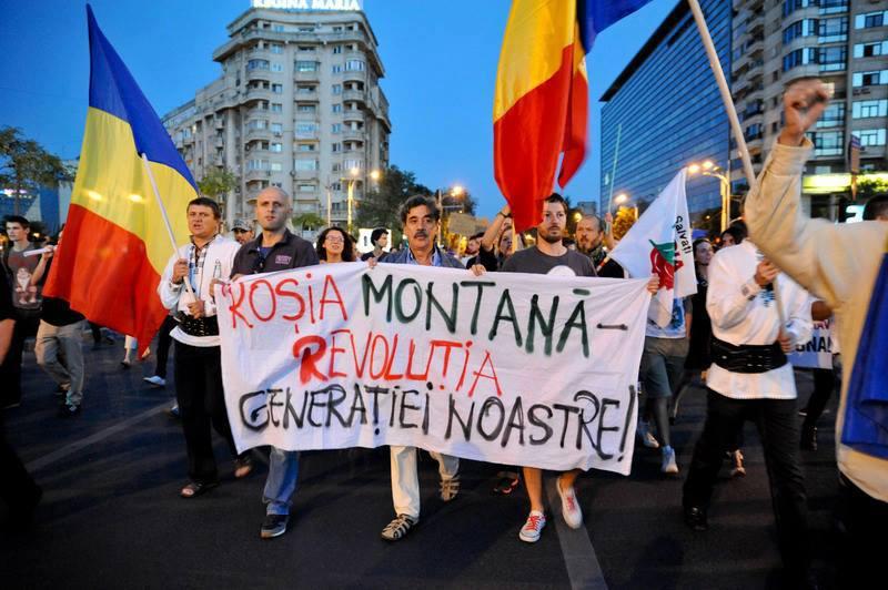 Protest Rosia Montana