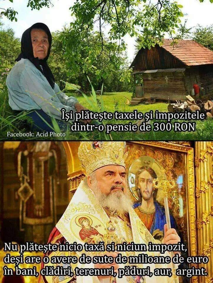 Religia ortodoxa - fabrica de bani