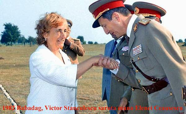 Elena Ceausescu si Victor Atanasie Stănculescu