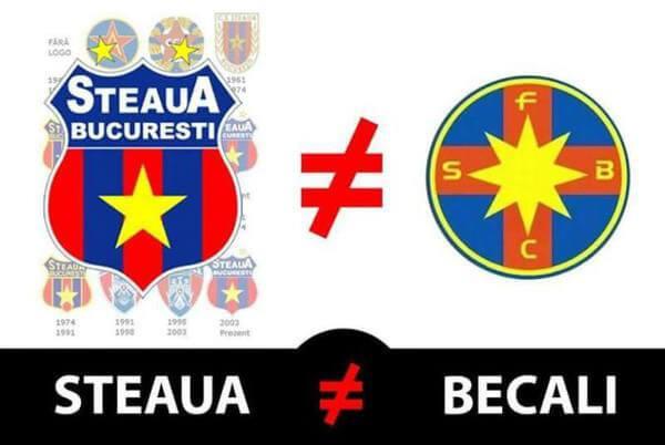 Steaua versus Becali