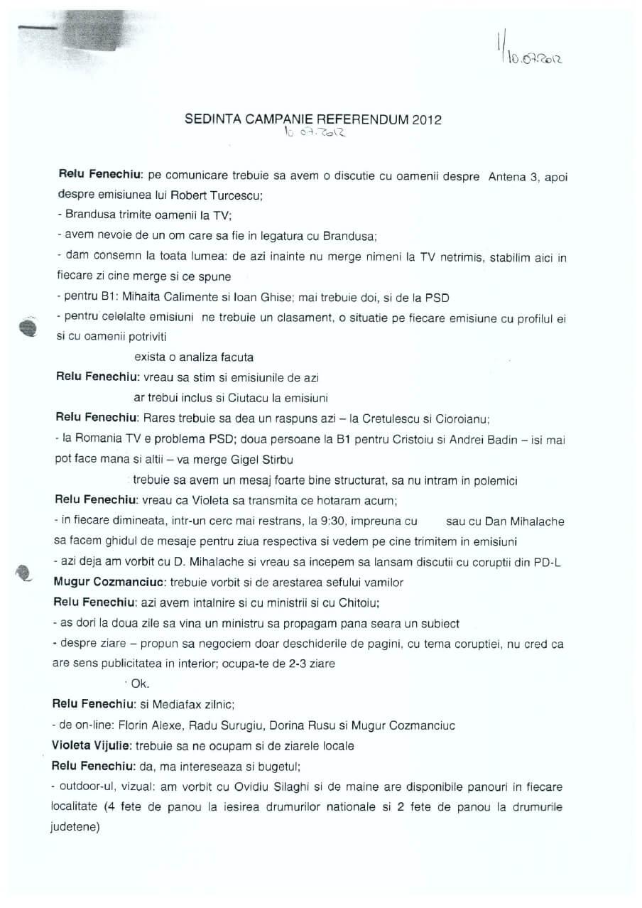Stenogramele PNL din 2012